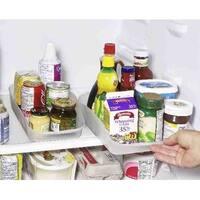 """Rolling Refrigerator Storage Organizer Tray (Size Small - 13""""L x 7""""W)"""