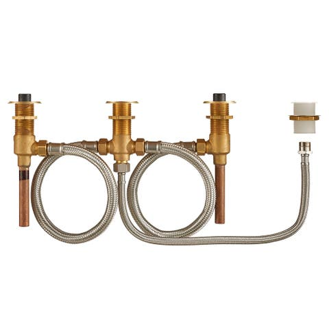 "American Standard R910 Flash Roman Tub Rough-In Valve Body with 1/2"" - Natural"