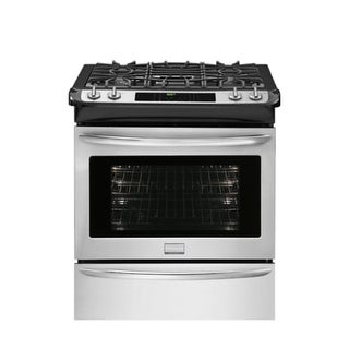 Frigidaire FGDS3065P 30 Inch Wide Dual Fuel 4.6 Cu. Ft. Slide-In Range with Effortless Convection - Stainless Steel