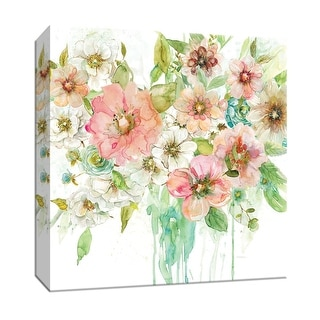 """PTM Images 9-147701  PTM Canvas Collection 12"""" x 12"""" - """"Luscious Bouquet"""" Giclee Flowers Art Print on Canvas"""
