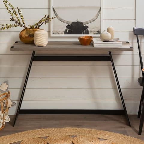 Carbon Loft Kenyon Metal Wrap Entry Table