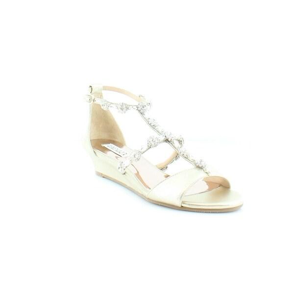 Badgley Mischka Terry II Women's Sandals & Flip Flops PltMSd - 7