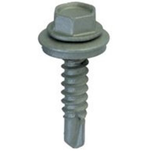 Teks 21416 Roofing Screws, #12 x 2 Drill PT, 50/Pk