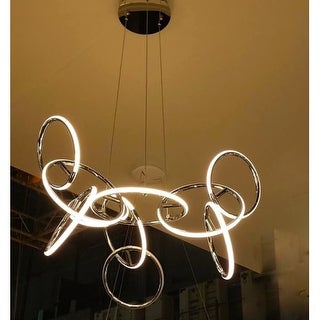 "Contempo Lights SHSC309 Dame' 38"" Wide Integrated LED Chandelier"