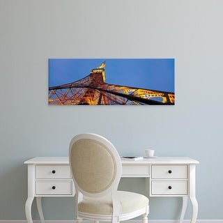 Easy Art Prints Panoramic Image 'Tower, Tokyo Tower, Shiba Park, Minato Ward, Tokyo Prefecture, Japan' Canvas Art
