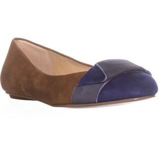 Ivanka Trump Cece Bow Ballet Flats, Natural Multi - 6.5 us