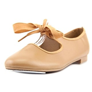Dance Class By Trimfoot Company Tap Youth Round Toe Synthetic Tan Dance
