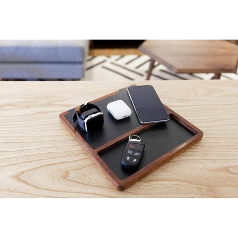 NYTSTND TRIO TRAY 5-Coil Qi Fast Wireless Charging Station