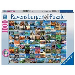Ravensburger 19371 99 Beautiful Places on Earth Puzzle, 1000 Piece