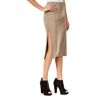 Guess Womens Pencil Skirt Modal Blend Knee-Length