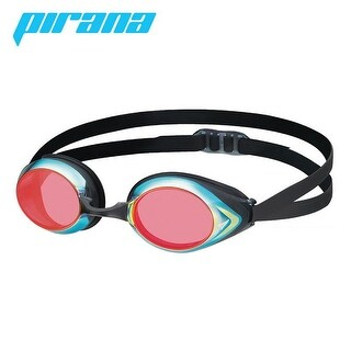 VIEW Swimming Gear V-220 Pirana Masters Racing Mirrored Goggles