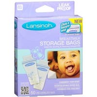 Lansinoh Breastmilk Storage Bags 50 Each