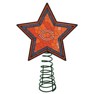 Chicago Bears Mosaic Tree Topper