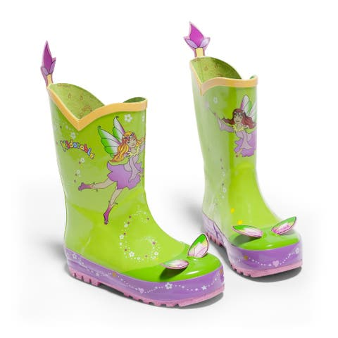 Kidorable Fairy Rain Boot - Green
