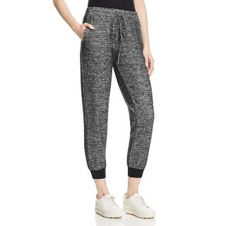 VELVET BY GRAHAM & SPENCER Womens Jogger Pants Marled Ribbed Knit Cuff - XS