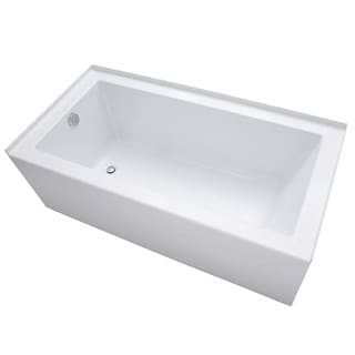 acrylic soaking tub 60 x 30. mirabelle mirsks6030l sitka 60\ acrylic soaking tub 60 x 30 c
