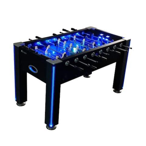 Atomic Azure LED Light Up Foosball Table / G01344W