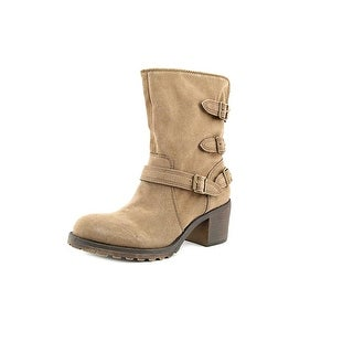 American Rag Vance Round Toe Synthetic Mid Calf Boot
