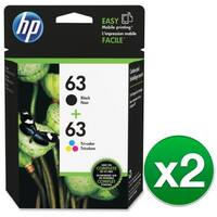 """HP 63 Clr/Blk Ink Crtg Combo 2-Pack (2-Pack) Ink Cartridge"""