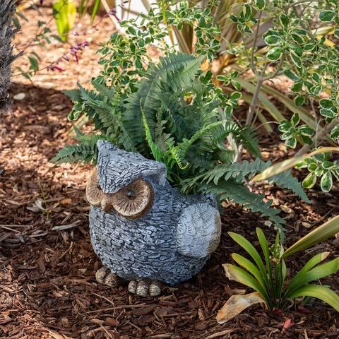 13-inch Owl Planter