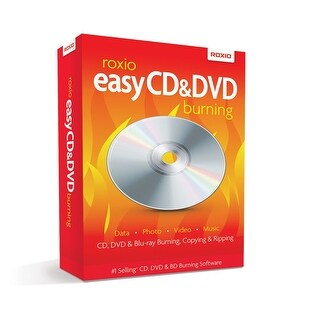 Roxio Easy CD and DVD Burning