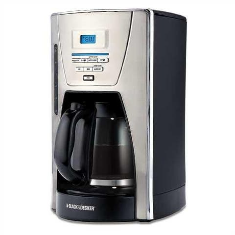 Refurbished Black and Decker 12 cup Coffee Maker