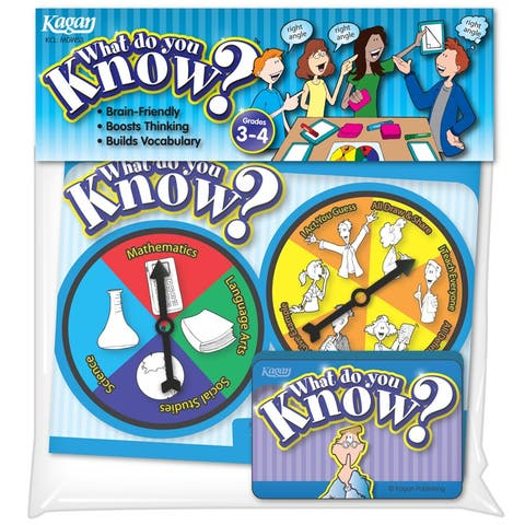 (3 Ea) What Do You Know Gr 3-4