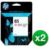 HP 85 69-ml Light Magenta DesignJet Ink Cartridge (C9429A) (2-Pack)