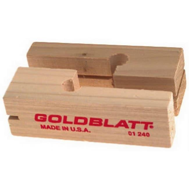 Goldblatt G01243 Wood Line Blocks, Pair