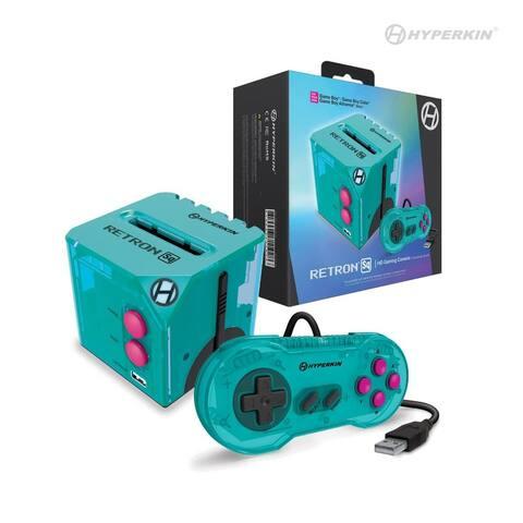 RetroN Sq: HD Gaming Console For Game Boy®/Game Boy Color®/ Game Boy Advance® (Hyper Beach) - Hyperkin - 6.5 x 3.75 x 6.5