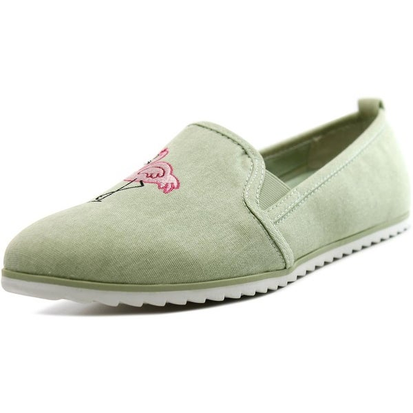 Bar III Opal Round Toe Canvas Loafer