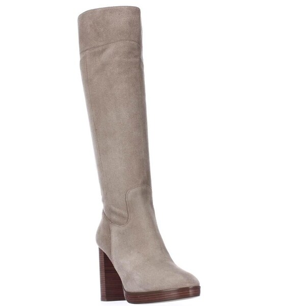 MICHAEL Michael Kors Regina Knee High Platform Boots, Dark Khaki