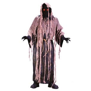 Ghoul Robe Fading Eyes Scary Mens Halloween Costumes - Standard (42-46 chest)