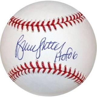 Bruce Sutter signed Official Rawlings Major League Baseball HOF 06 (Cubs/Cardinals/Braves)