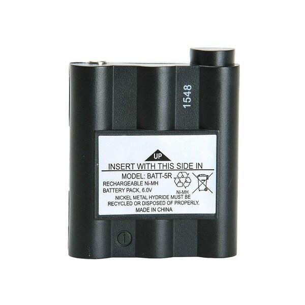 Replacement Battery For Midland GXT1000VP4 2-Way Radios - BATT5R (700 mAh, 6V, NiMH) -