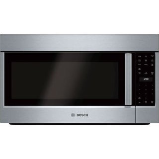 Bosch HMV503U 500 Series 30 Inch Wide 2.1 Cu. Ft. Over-the-Range Microwave with 385 CFM Blower and Weight Controlled Sensor