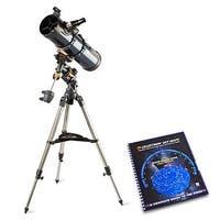 Celestron 31045 AstroMaster 130 EQ Reflector Telescope with Skymaps