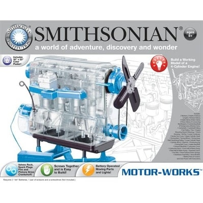 Smithsonian Motor Works Kit - multi