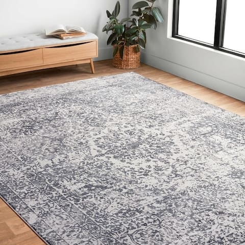 Alexander Home Mason Distressed Traditional Persian Rug