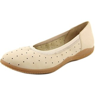 Softwalk hampshire Women Round Toe Leather Ballet Flats