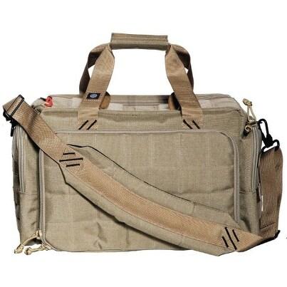 G-Outdoors G.P.S. Tactical Range Bag with Insert Tan GPS-T1813LRT