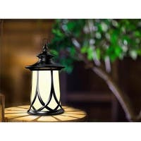 Winsome House WXE0123-MP-1 Round Lantern Solar Light