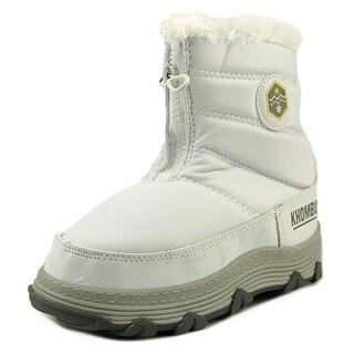 Khombu Mimi Round Toe Canvas Snow Boot