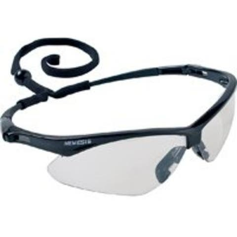 Jackson Safety 3000357 Nemesis Safety Glass, Black Frame