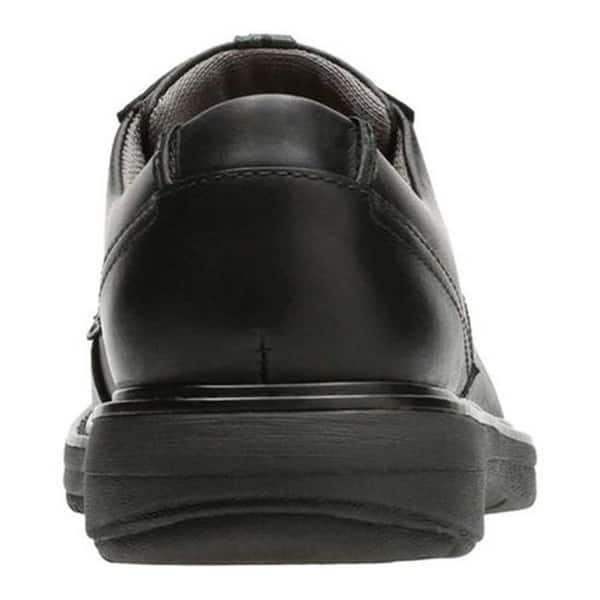 meticulous dyeing processes value for money new concept Shop Clarks Men's Cushox Pace Derby Shoe Black Full Grain ...