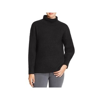 French Connection Womens Pullover Sweater Wool Turtleneck