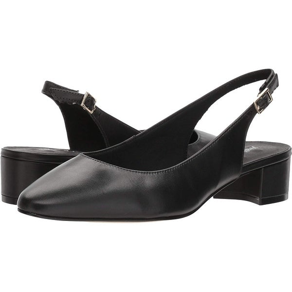 0f73a5f8451b Shop Walking Cradles Womens Hazel Leather Closed Toe SlingBack Classic  Pumps - Free Shipping Today - Overstock - 24116146