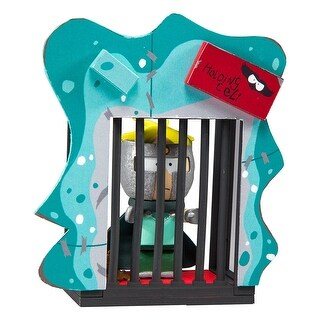 South Park Holding Cell 38-Piece Construction Set w/ Professor Chaos Butters - Multi