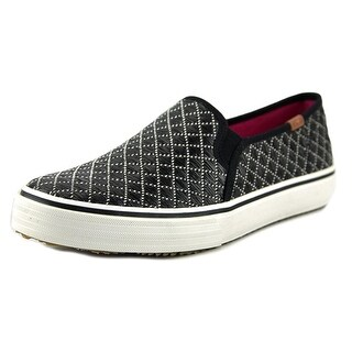 Keds DBL Deck Geo Raffia Round Toe Synthetic Loafer