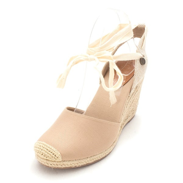 Proxy Womens ARJL200495 Almond Toe Casual Platform Sandals - 9